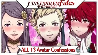 Fire Emblem Fates Birthright - Part 17 | All 13 Avatar Gen-1 S-Rank Supports! [English Narrated]