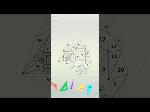Vídeo do Poly Artbook - puzzle game