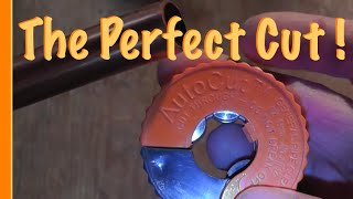 How to cut a copper water pipe the easiest way