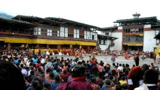 preview picture of video 'Stor begivenhed i Bhutan'