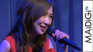 森口博子、「Zガンダム」オープニング曲を生熱唱!「フィーバー機動戦士Zガンダム」導入直前ファンイベント1