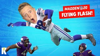 The Flying Flash! Madden NFL 20 Franchise Part 9! K-CITY GAMING
