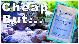 Using Pool Filter Sand in an Aquarium: The Good and The Bad