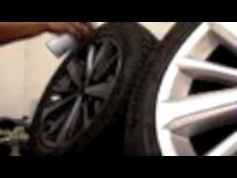 Plasti Dip Toyota Highlander Wheels