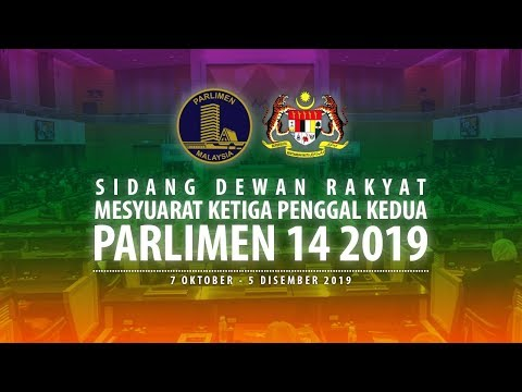 #LIVE Parlimen 21 November 2019 | Sesi Pagi
