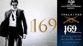 Thalaivar 169 Official First Look - Rajinikanth | Desingu Periyasamy | Ags Entertainment