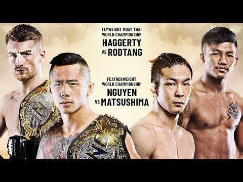 Martin Nguyen vs. Koyomi Matsushima Headlines ONE: DAWN OF HEROES   2019 In Review