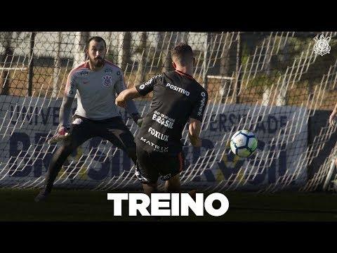 Último treino antes do Botafogo com golaço de Jonathas