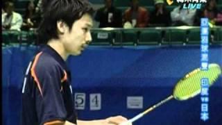 2010廣州亞運羽球混雙日本美少女-潮田玲子2