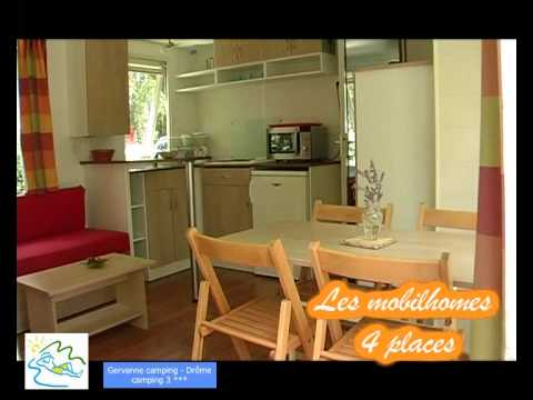 Gervanne camping Mobilhome