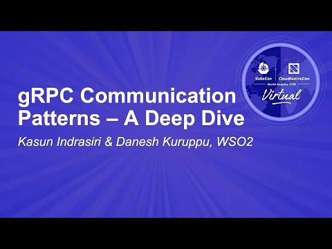 Image thumbnail for talk gRPC Communication Patterns – A Deep Dive
