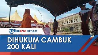 Terciduk Zina dengan 2 Pria, IRT di Aceh Dihukum Cambuk 200 Kali: Tidak Apa-apa, Masih Kuat