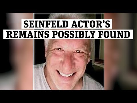 Missing 'Seinfeld' actor's remains possibly found