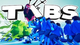 THERE ARE SECRET GIANT UNITS IN TABS! | Totally Accurate Battle Simulator #10