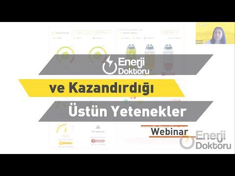 ENTES Webinar: Enerji Doktoru ve Kazandırdığı Üstün Yetenekler