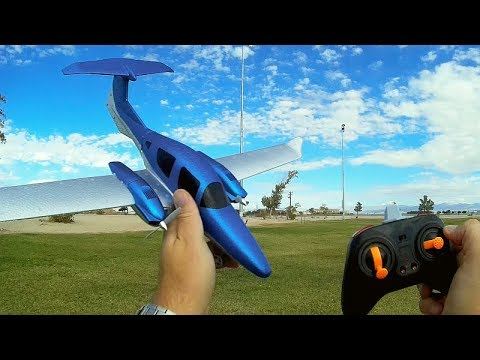 GD-006 Diamond DA62 RC Airplane Flight Test Review