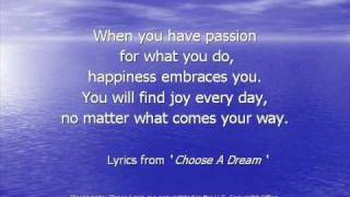 Inspirational Quotes - Lessons From Lyrics