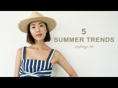 5 Summer Trends Lookbook    Chriselle Lim