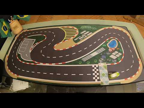 Table Race Track for the Turbo Racing 1/76 Mini RC Car