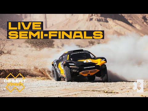 エクストリームE 2021 第1戦 サウジアラビア セミファイナルのライブ配信動画
