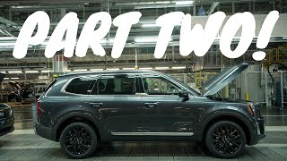 Inside The Telluride Factory! | Behind The Scenes With Kia (Part 2)