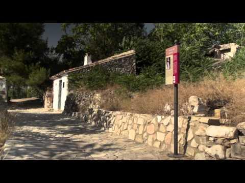 """Aussichtspunkt und Öfen des Dorfes """"Cedron, Cuevas Bajas"""