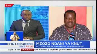 Mudzo Nzili:Sossion hana uwezo wa kunistaafisha kama mwenyekiti,yeye ni mbunge mteule