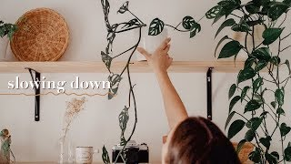 a slow day in my life | relaxing vlog