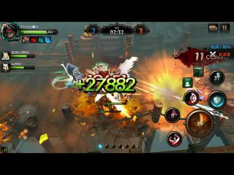 HIT: Heroes of incredible tales Reboot Server Asia Guild War With Fei & wj