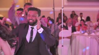 Groom's Surprise Performance for Bride - Reception Bollywood Dance - PUNJABI WEDDING