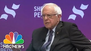 Bernie Sanders On Democrats Being A United Party At The 'She The People' Forum | NBC News