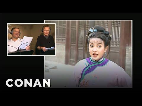 Conan a Andy dabují čínskou telenovelu