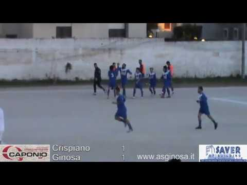 Preview video CRISPIANO-GINOSA 1-1 Pari con rammarico a Crispiano