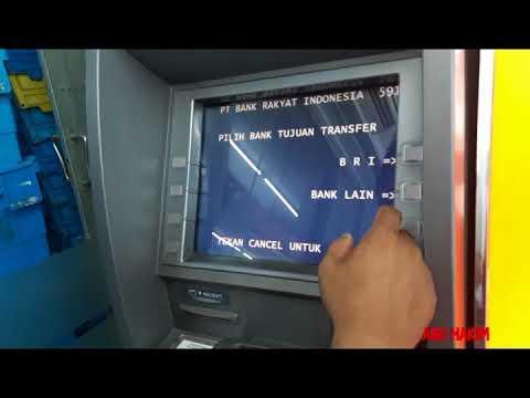 Cara transfer lewat ATM BRI ke rekening bank lain