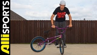 How To Flatland Whiplash, Terry Adams, Alli Sports BMX Step By Step Trick Tips