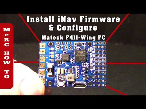 matek-f411-wing-flight-controller--inav-firmware--configuration-rc-airplane-setup-in-a-flash