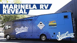 West Coast Customs' reveals the Marinela Bus for The Boardr