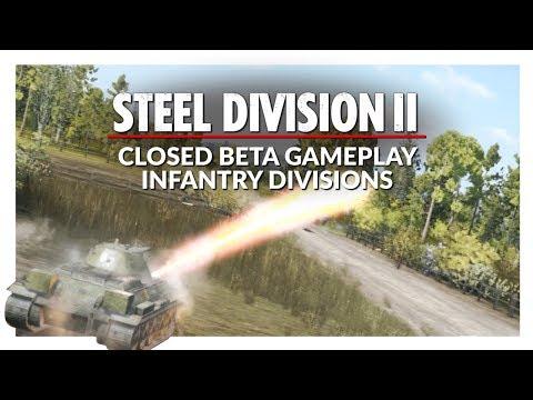 STEEL DIVISION 2 | INFANTRY DIVISIONS BETA 2 GAMEPLAY (Skirmish Battle 07)