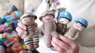 Izzy Dolls Made To Provide Comfort To Refugee Children