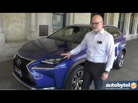 2015 Lexus NX 200t F SPORT Video Review and Walkaround
