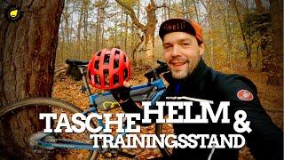 POC Fahrrad-Helm, Apidura Rahmentasche und aktueller Trainingsstand