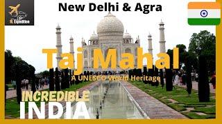 Taj Mahal (Agra) Incredible India, A UNESCO world heritage