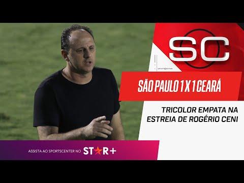 SÃO PAULO SURPREENDEU OU DECEPCIONOU NA ESTREIA DE ROGÉRIO CENI?   SportsCenter