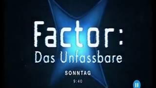 20 Jahre X-Factor Das Unfassbare - Jubiläumstag 04.11.2018