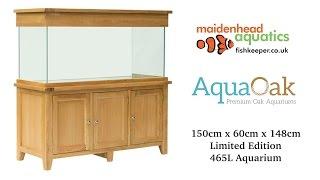 Aqua Oak 150cm 'Doors' Aquarium *Limited Edition* (AQ150D)