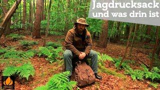 Lautloser Jagdrucksack - Waldkauz Cervus | Bushcraft Jagd Rucksack