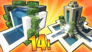 14 Fountain Designs & Ideas! - Minecraft