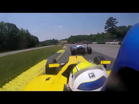 F4 U.S. Driver Joshua Car Passes 19 Cars at Road Atlanta (full race)