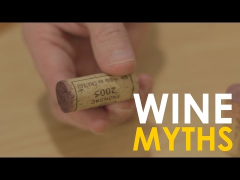This Video Debunks Three Popular Myths About Wine