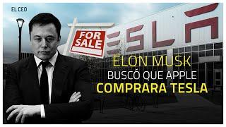 Elon Musk buscó que Apple comprara Tesla